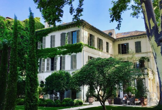 A former mansion transformed into a guest house  in the middle of the largest private garden in the papal city of Avignon  - photo  n°6