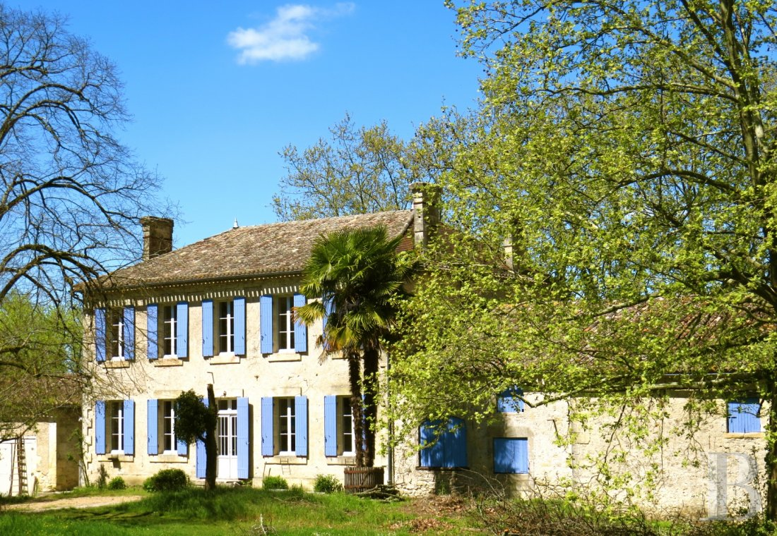A 19th century mansion and guest rooms surrounded by orchards in the Dordogne, halfway between Bergerac and Libourne - photo  n°5
