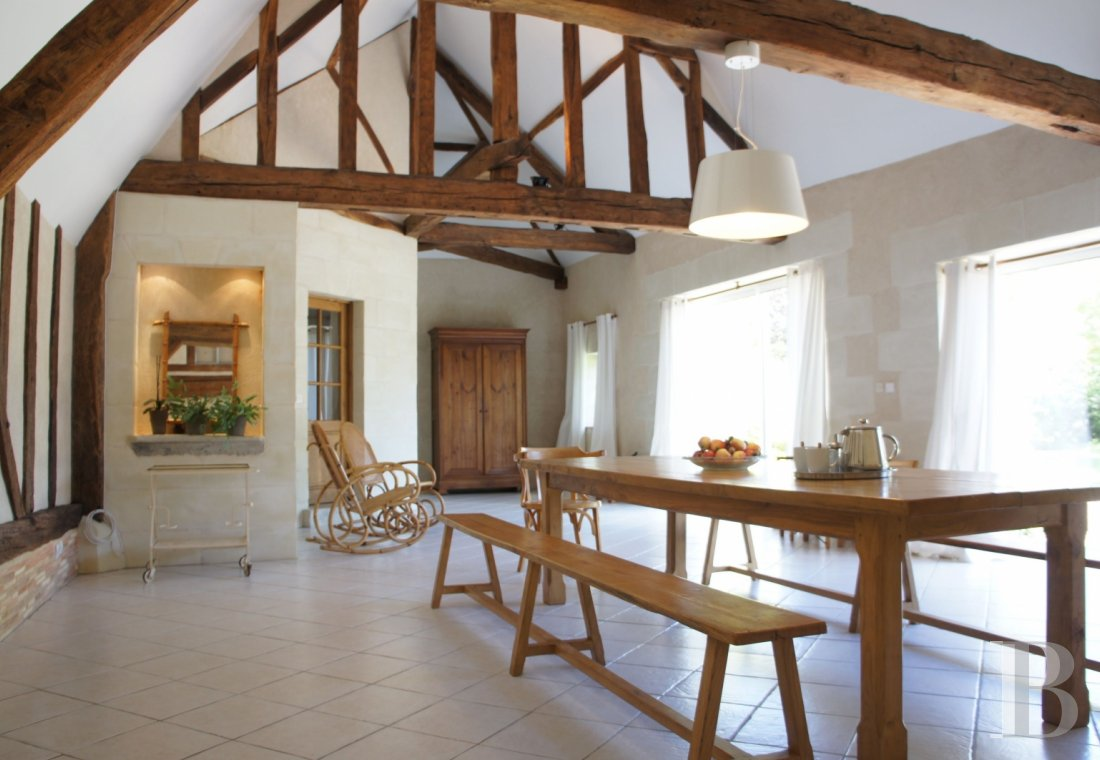 A farm converted into a holiday cottage on an estate classified as a Historic Monument, near to Tours - photo  n°10