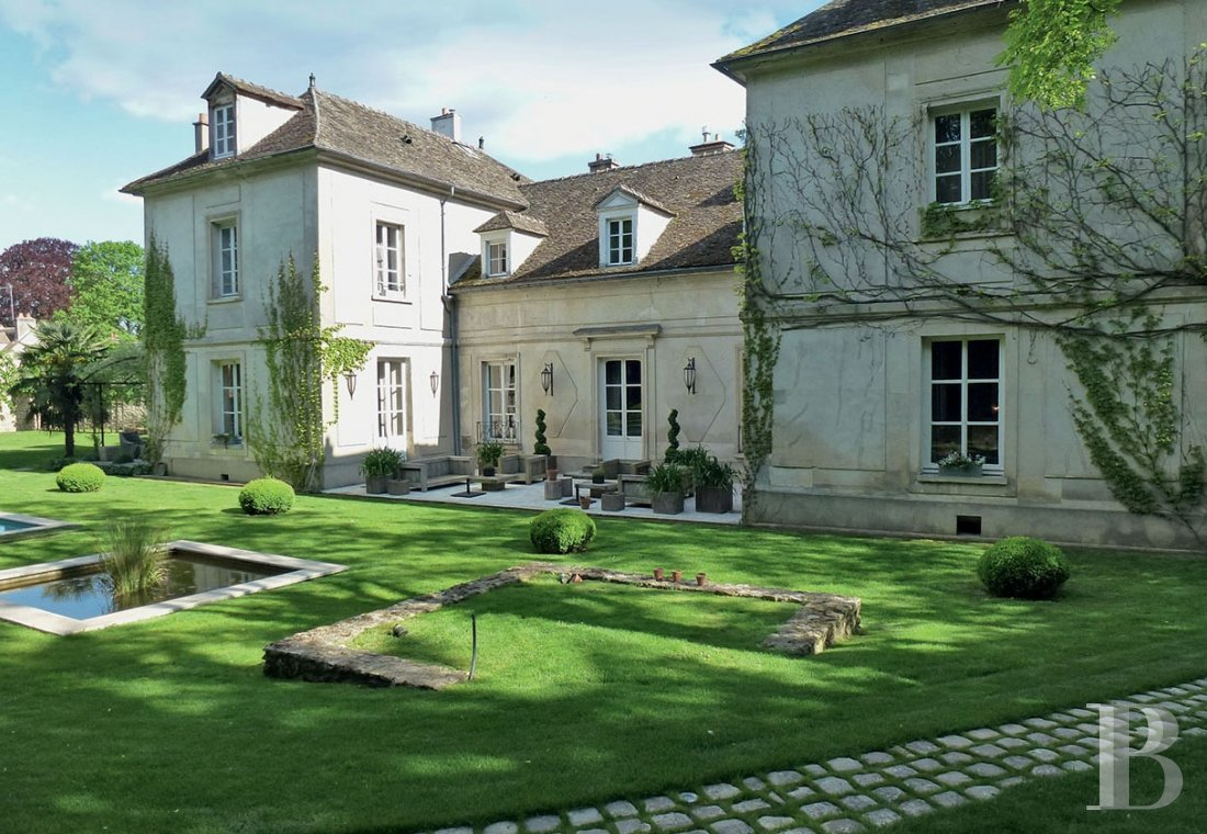 A classic and elegant house for relaxing weekends, family gatherings and important meetings just 50 kilometres from Paris  - photo  n°4