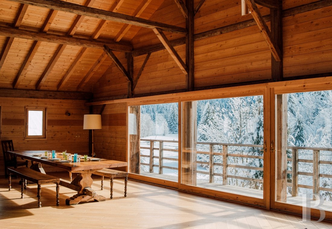 An 18th century farmhouse for large families or groups of friends  in the Channel valley, near Morzine - photo  n°4