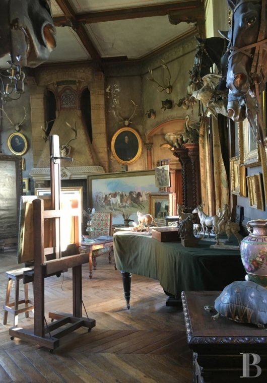 The Rosa Bonheur chateau filled with memories of the artist  at the edge of the Fontainebleau forest  - photo  n°6