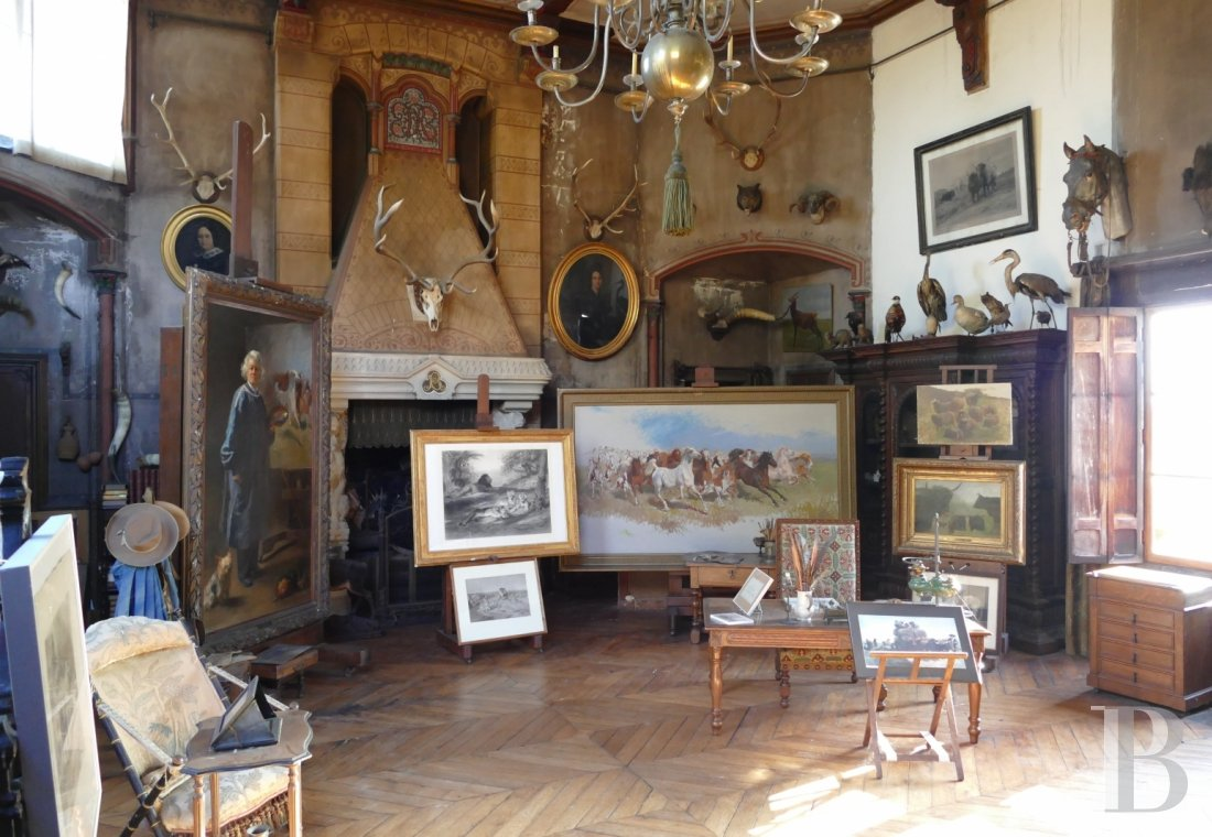 The Rosa Bonheur chateau filled with memories of the artist  at the edge of the Fontainebleau forest  - photo  n°11