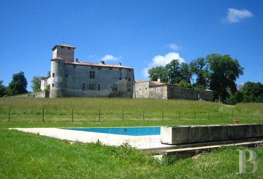 chateaux for sale France aquitaine castles chateaux - 4