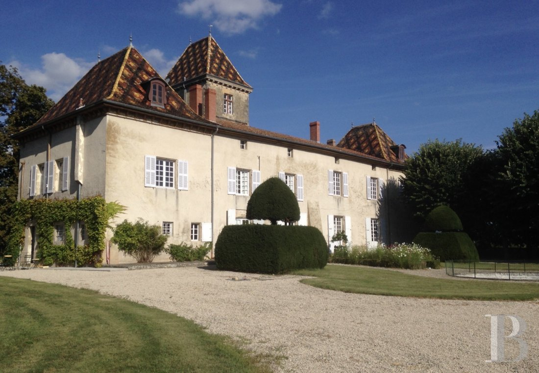 chateaux for sale France rhones alps castle for - 1