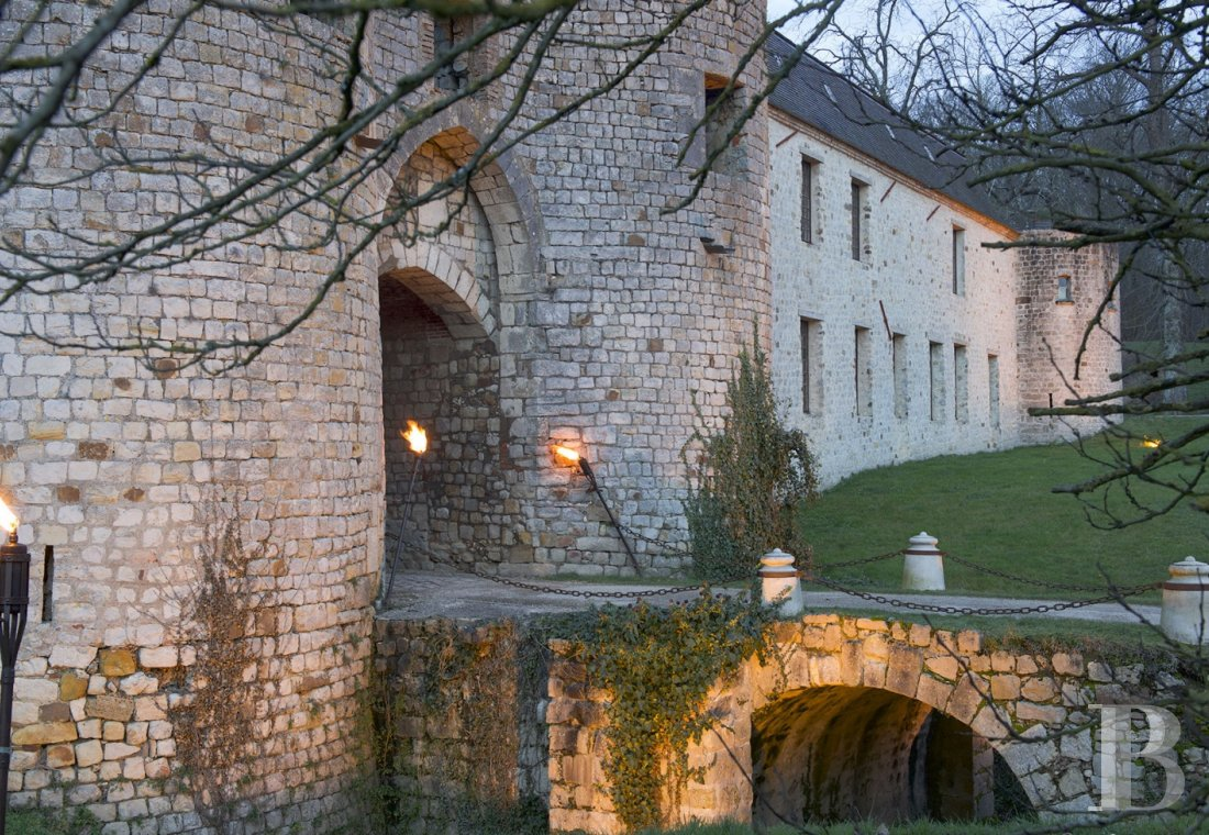 A princely chateau dedicated to organising luxurious events  to the north of the Yvonne, not far from Paris - photo  n°19