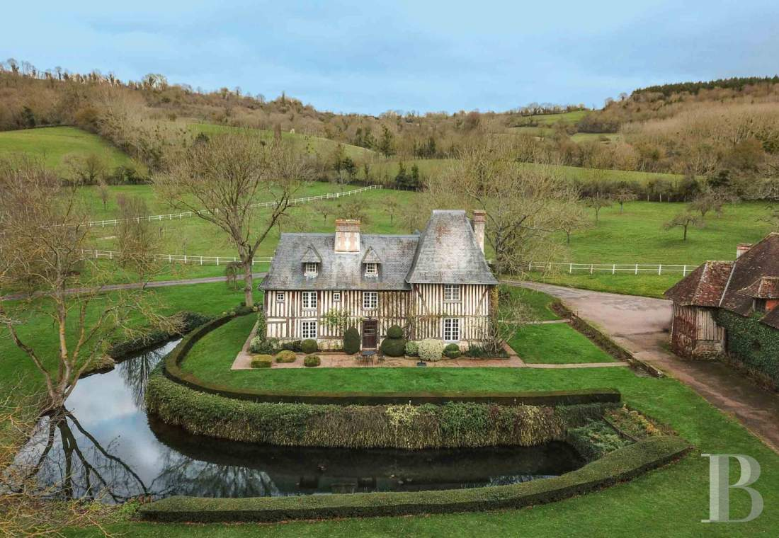 France mansions for sale lower normandy   - 2
