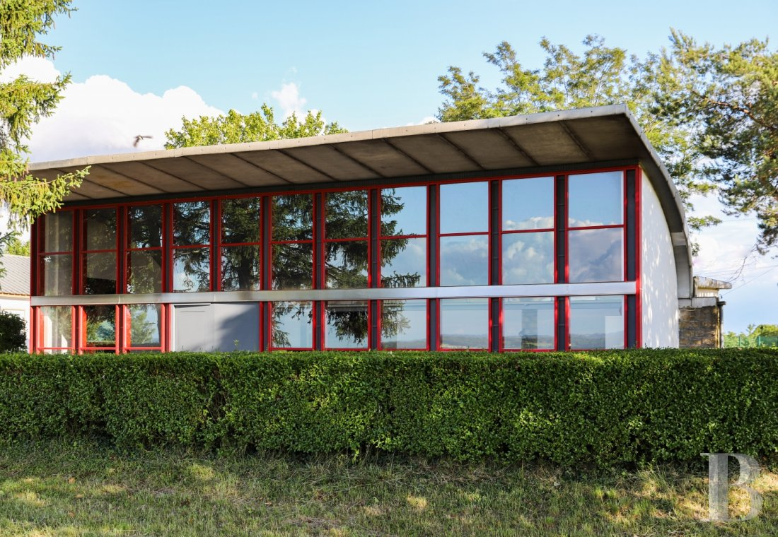 A former aerodrome clubhouse built by Prouvé and Le Corbusier in Meurthe-et-Moselle - photo  n°4