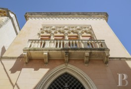 A little Baroque palace in the town of Galatone, a short distance from the bigger town of Lecce