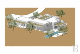 An authorised architectural project on a 1.3 ha plot of building land,  designed by a bolognese architect in Carovigno, in ...