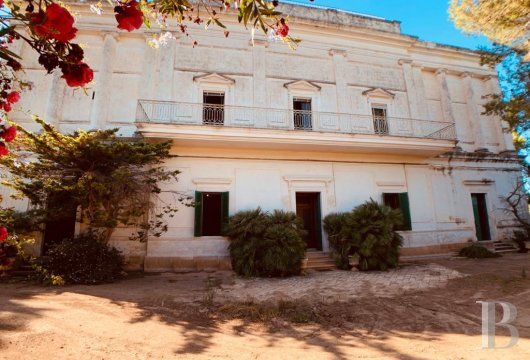 A 17th century, traditional masseria farmhouse,  with its 7-ha estate, near to the sea in Nardò