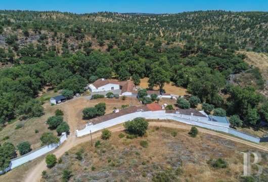 A renovated, 18th century estate in Alandroal, on the banks of the river Lucefecit in the Alentejo region