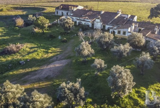 "An authentic ""Monte"" or farmhouse awaiting renovation,  with 15 hectares, in Monforte in the Alentejo region"