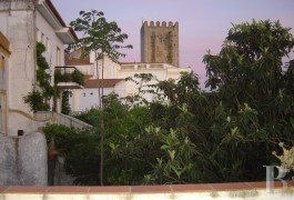A traditional stately home and its secret garden  near to Portalegre in one of the Alentejo region's historic villages